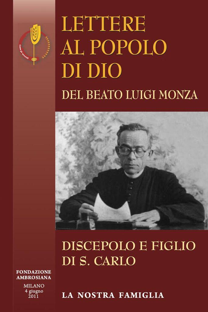 beato luigi monza lettere al popolo Dio