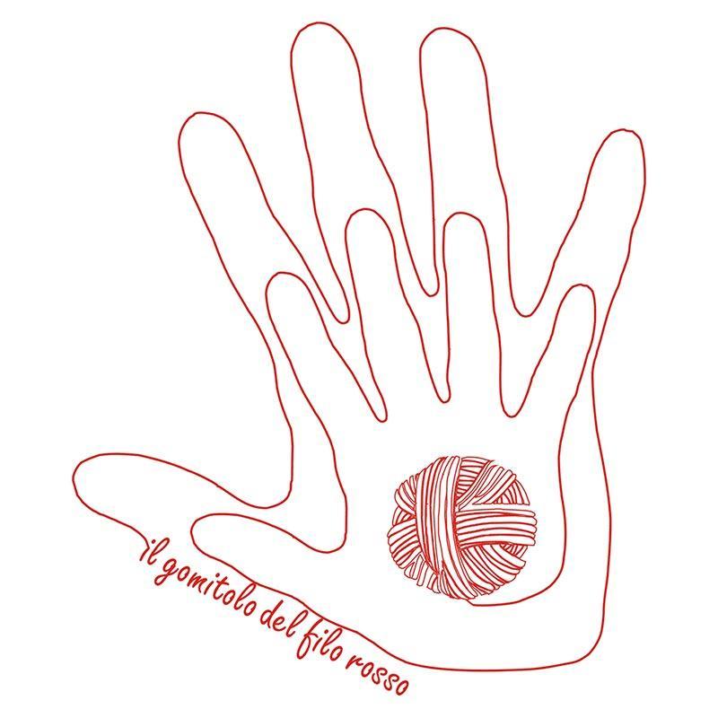 logo gomitolo filo rosso