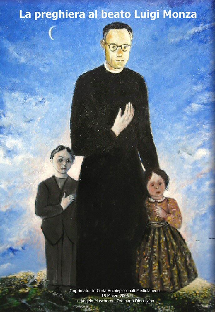 preghiera beato Luigi Monza