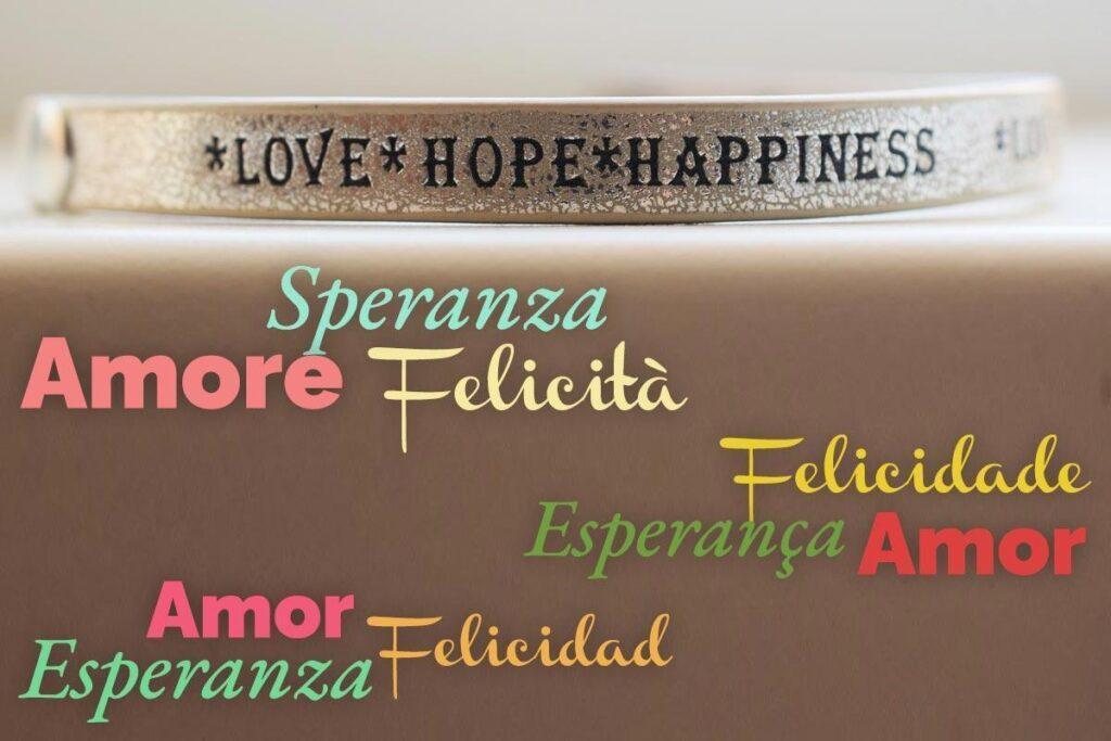 amore speranza felicita
